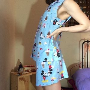 Disney Intimates & Sleepwear - Summer Disney Pajamas Minnie Mickey Mouse